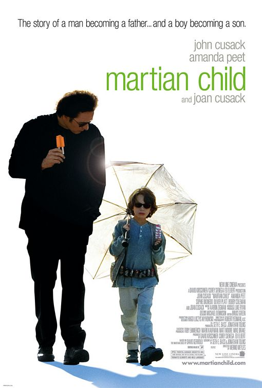 The Martian Child Poster