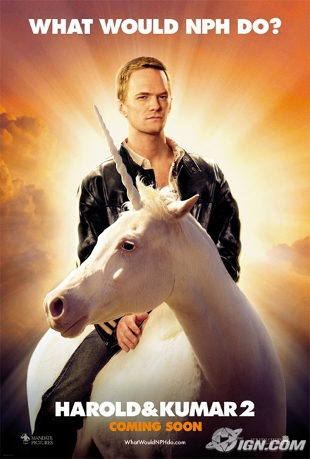 What Would NPH Do poster