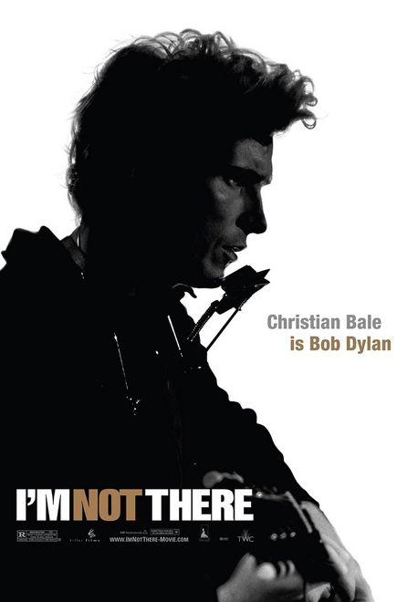 Christian Bale in I'm Not There poster