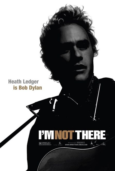 Heath Ledger in I'm Not There poster