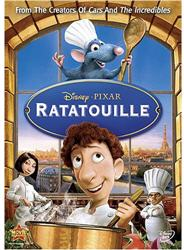 Ratatouille on DVD