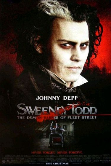 New Sweeney Todd Poster