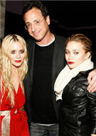 Bob Saget with the Olsen Twins