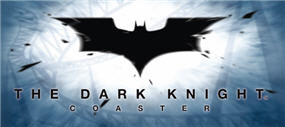 The Dark Knight Coaster Logo