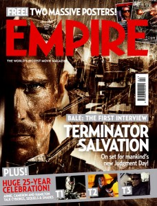 Empire Cover - Terminator: Salvation
