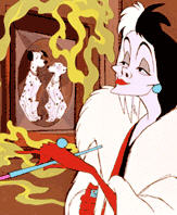 Disney Bans Smoking - No more Cruella DeVille