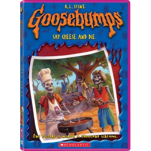 Goosebumps Say Cheese and Die on DVD