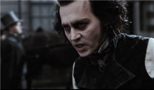 Johnny Depp in Sweeney Todd Trailer